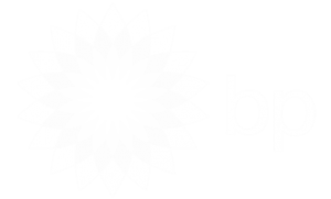 Bp White Logo