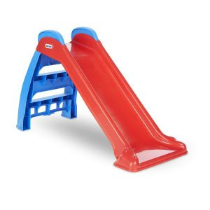 Red and Blue Slide for Kids