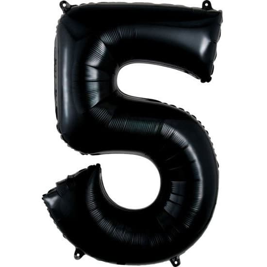 Black 5 Balloon
