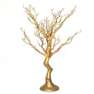 Gold Tree Table Centrepiece