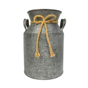 Rustic Milk Tin