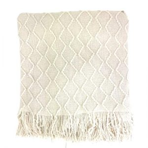 White Quilted Blanket