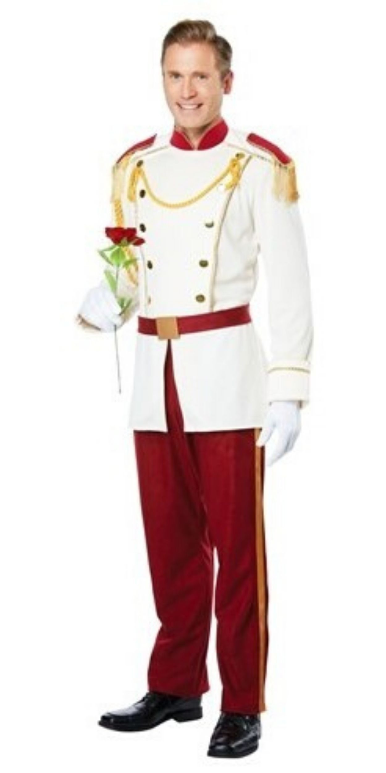 Man in Prince Charming Party Costume