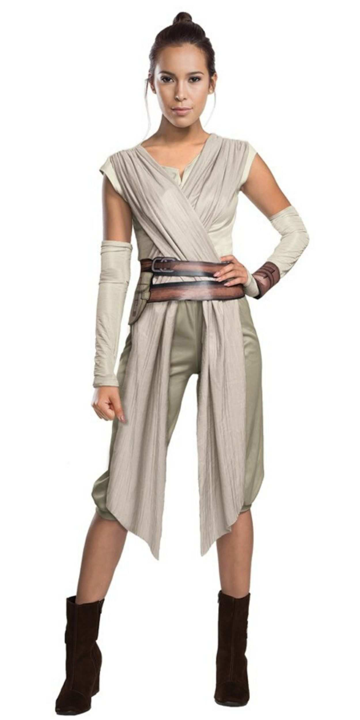 Woman in Rey Party Costume
